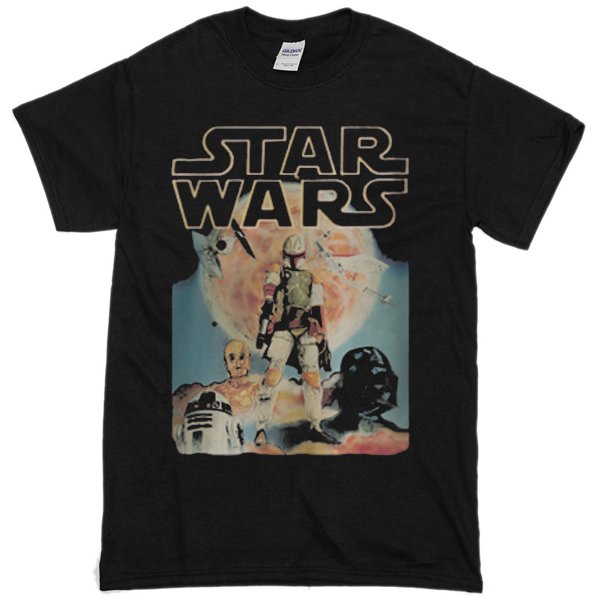 vintage star wars t shirt t shirts design concept. Black Bedroom Furniture Sets. Home Design Ideas